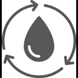 Water transparant